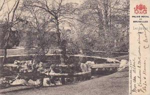 Belgium Brussels Palais Royal Les Jardins 1903