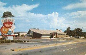 Jackson Mississippi Green Derby Restaurant Vintage Postcard AA16709