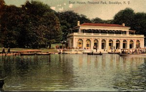 New York City Brooklyn Prospect Park Boat House