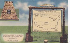Kansas Lebanon Geographic Center Of United States