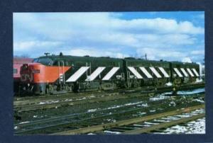 Canadian National Train Railroad FAIRVIEW NOVA SCOTIA