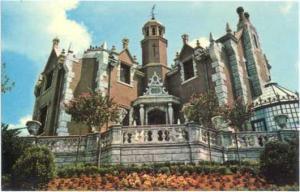 Walt Disney World, The Haunted Mansion, Orlando, Florida, FL, Chrome