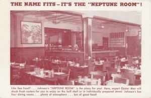PROVIDENCE , R.I. , 1910s ; Johnson's Hummocks Sea Food Grill ; #2