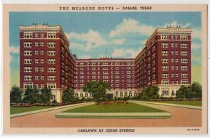 Melrose Hotel, Dallas TX