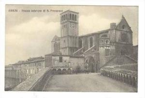 Assisi, Italy, 00-10s Piazza inferiore di S. Francesco