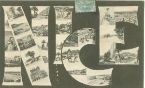 Nice, 1905 used Postcard CPA
