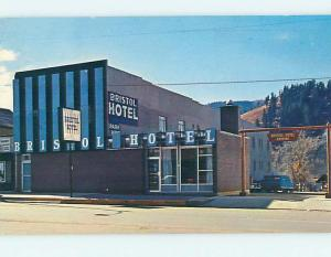 Pre-1980 NEW BRISTOL MOTEL Steamboat Springs Colorado CO M1606