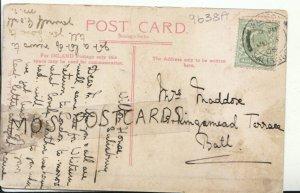 Genealogy Postcard - Maddox - 15 Kingsmead Terrace - Bath - Ref 9638A