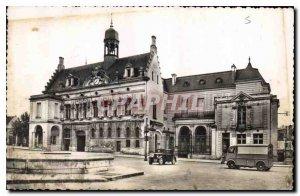 Old Postcard Noyon Oise The City Hotel