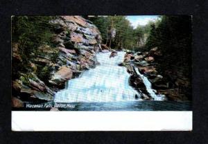 MA View Waconah Falls DALTON MASS MASSACHUSETTS UDB PC