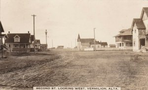 RP: VERMILION , Alberta , Canada , 00-10s ; Second Street , Looking West