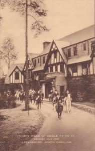 Thirty Miles of Bridle Paths at Sedgefield Inn Greensboro, North Carolina, 00...