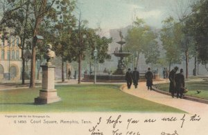 MEMPHIS , Tennessee, 1906 ; Court Square