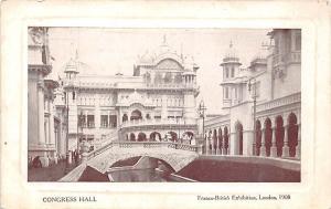 London, Franco-British Exhibition, Congress Hall 1908