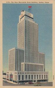 DALLAS, Texas, 1930-40s ;  The New Mercantile Bank Building