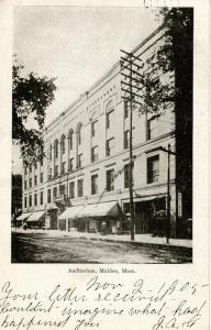 MA - Malden. Auditorium