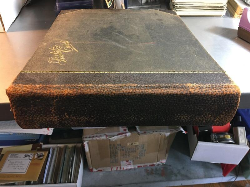 Vintage Antique Postcard Album 400 Pages Great Condition