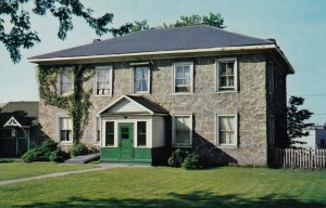 SAULT STE. MARIE, Ontario, Canada, 1964; Historic Landmark, Old Stone House b...
