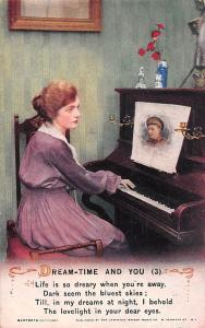 Dream-Time and You (3) Lady, Woman, Piano Songs