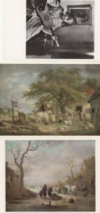 The Ivy Bequest Kenwood 3x Painting Postcard s