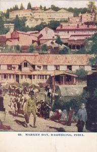 DAIJEELING, India, PU-1909; Market Day