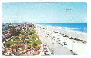 Boardwalk showing Miniature Golf Course, Daytona Beach, Florida, PU-1955