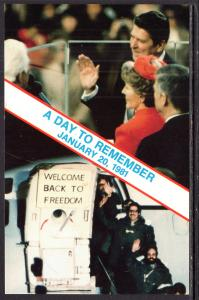 Ronald Reagan,Hostages Freed