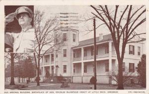 General Douglas MacArthur, Old Arsenal Building Museum, Little Rock, Arkansas...