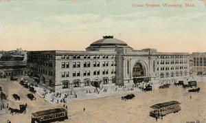 WINNIPEG , Manitoba, Canada , 1911 ; Union Station