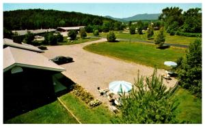 Vermont   Stowe , Golden Eagle  Motel ,