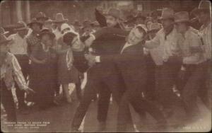 Cowboy Old West Movie Actor Exhibit Card JACK HOXIE Prisoner Escape
