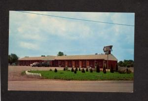 OH Crossroads Restaurant Motel Midland Ohio Postcard near Wilmington