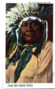 221-An Arapahoe Indian Chief