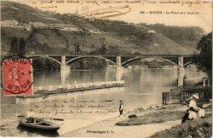 CPA ROUEN-Le Pont aux Anglais (348755)