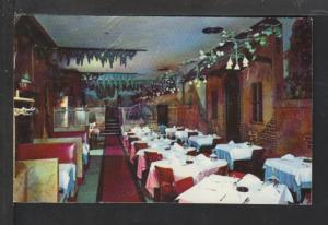 Italian Village Restaurant,Chicago,IL Postcard