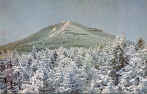 New York Adirondacks Winter View Of Whiteface Mountain
