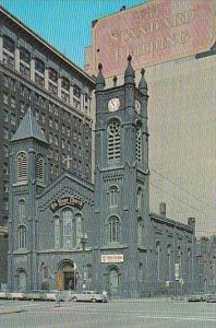 Ohio Cleveland The Old Stone Church On Public Square