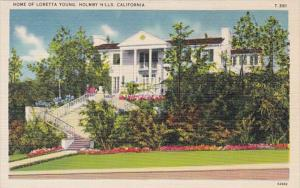 California Holmby Hills Home Of Loretta Young