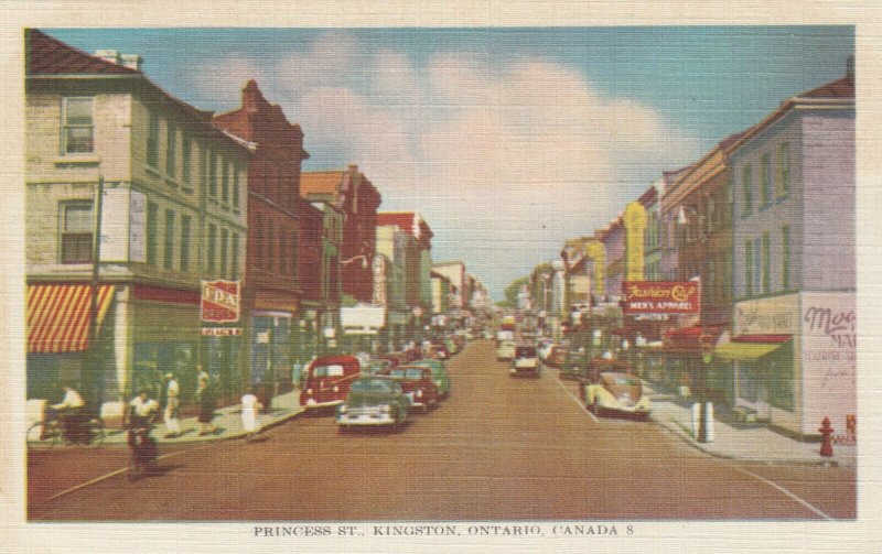 KINGSTON , Ontario , Canada , 30-40s; Princess Street