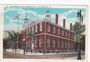 Pennsylvania Philadelphia Independence and Congress Halls 1931 Curteich