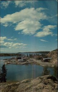 NWT North West Territory Yellowknife Great Slave Lake Postcard