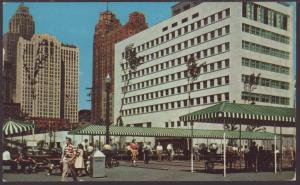 Civic Center Park,Detroit,MI Postcard BIN