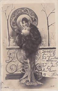 Month Of The Year December Glamorous Lady 1903