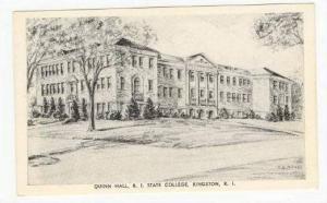 Quinn Hall R. I. State College, Kingston, Rhode Island,20-40s