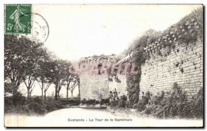 Old Postcard Guerande The Tower Gandinals