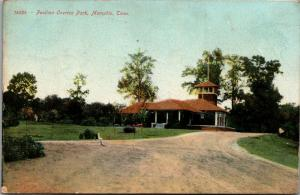 Memphis Tennessee~Overton Park Pavilion~Fork in the Road~1907 Postcard