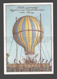090164 History aeronautics balloons dirigible by Lubarov PC#9