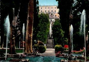 Italy Tivoli Villa d'Este View Built In 1551