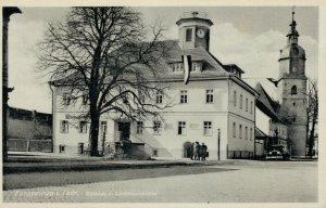 Germany - Langewiesen im Thür Rathaus u. Liebfrauenkirche 03.37
