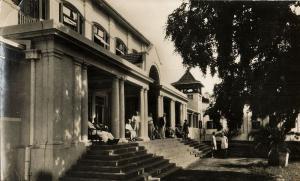 rhodesia, VICTORIA FALLS, Victoria Falls Hotel (1930s) RPPC Postcard
